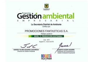Certificado I-Nivel GAE - AMBIENTAL