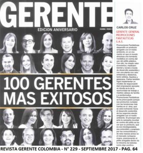 REVISTA GERENTE - SEP 2017